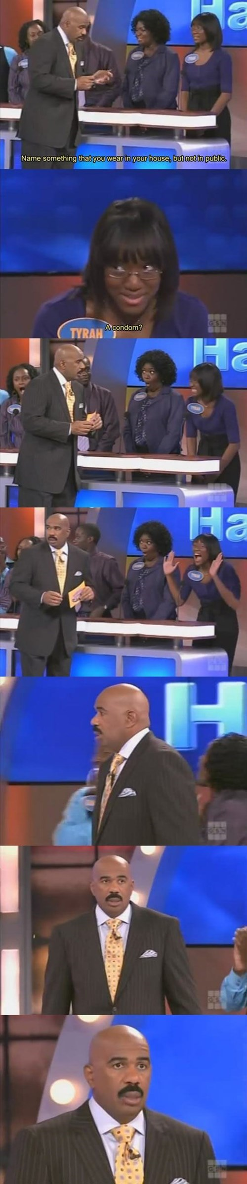 game show,family feud,condoms,stupid