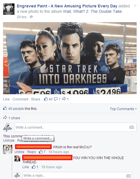 puns Star Trek nerdgasm - 8200240640