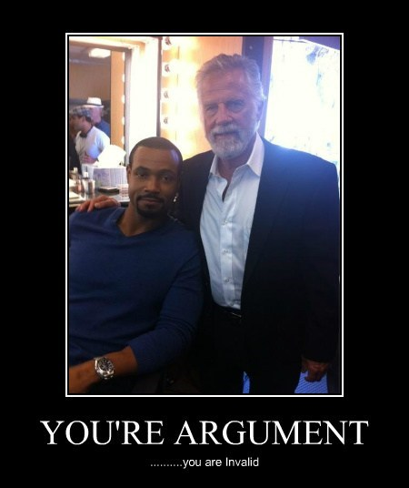 YOU'RE ARGUMENT ..........you are Invalid