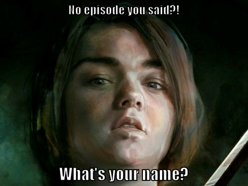Game of Thrones arya stark hiatus - 8200752896