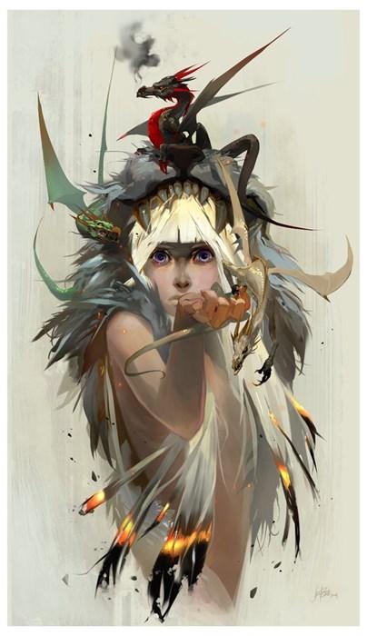 Game of Thrones Fan Art Daenerys Targaryen - 8200794368