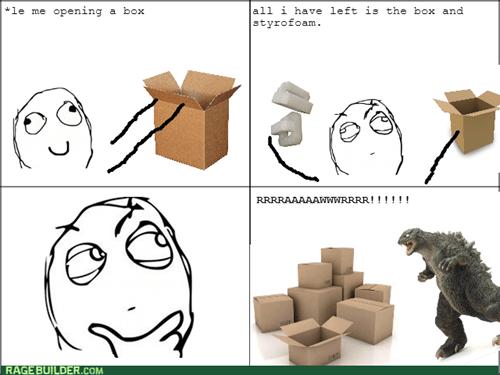 rawr godzilla box styrofoam - 8200862720