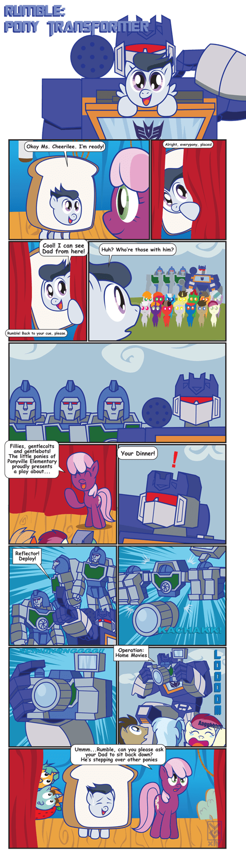 transformers,Fan Art,MLP,parents