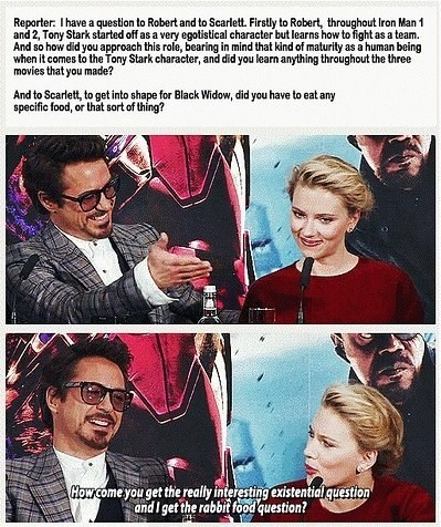 scarlett johansson robert downey jr Black Widow iron man press - 8201766912