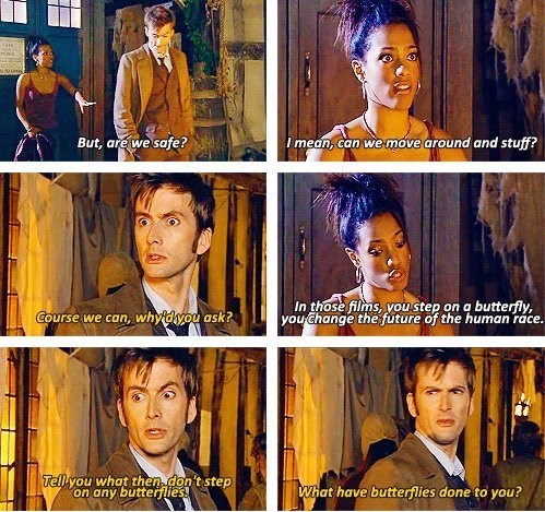 butterfly,10th doctor,martha jones