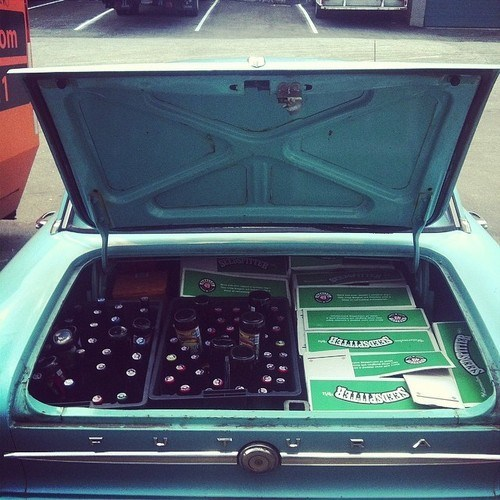 beer,trunk,cars,funny