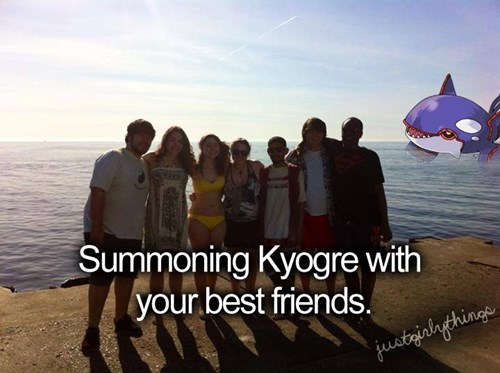 just girly things best friends kyogre - 8201943808
