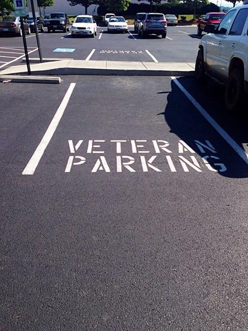 veteran parking,parking
