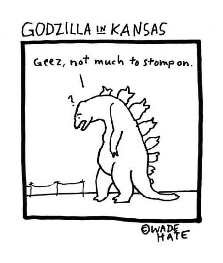 godzilla,Kansas,web comics