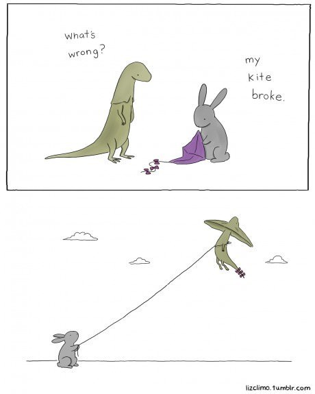 friendship friends animals dinosaurs web comics