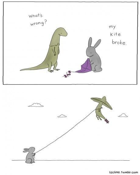friendship friends animals dinosaurs web comics - 8202383616