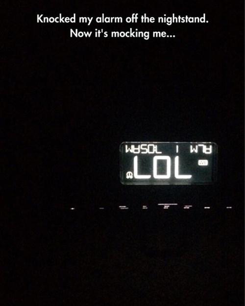 monday thru friday alarm clock lol g rated - 8202405632