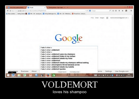 hair Harry Potter voldemort funny - 8202478336