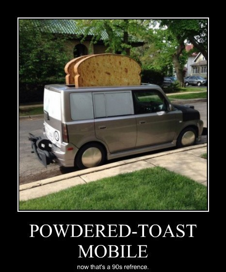 powered toast man 90s kids funny - 8202478592