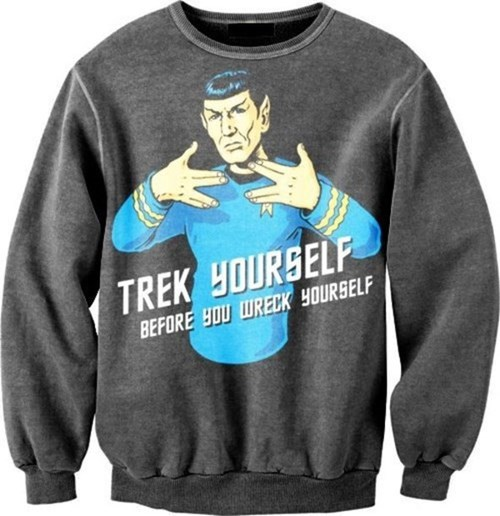 poorly dressed Spock Star Trek - 8202509824