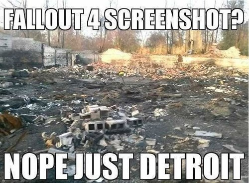 Detroit A.K.A. The Fallout Simulator