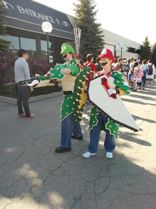 cosplay bowser mario brothers - 8202555392