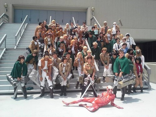 cosplay anime attack on titan - 8202606336