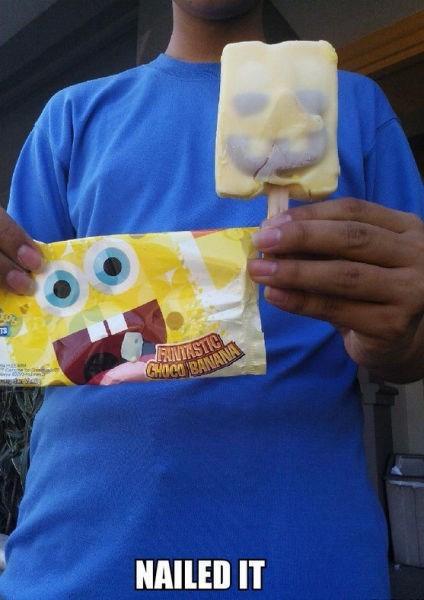 kids SpongeBob SquarePants ice cream parenting - 8202670592
