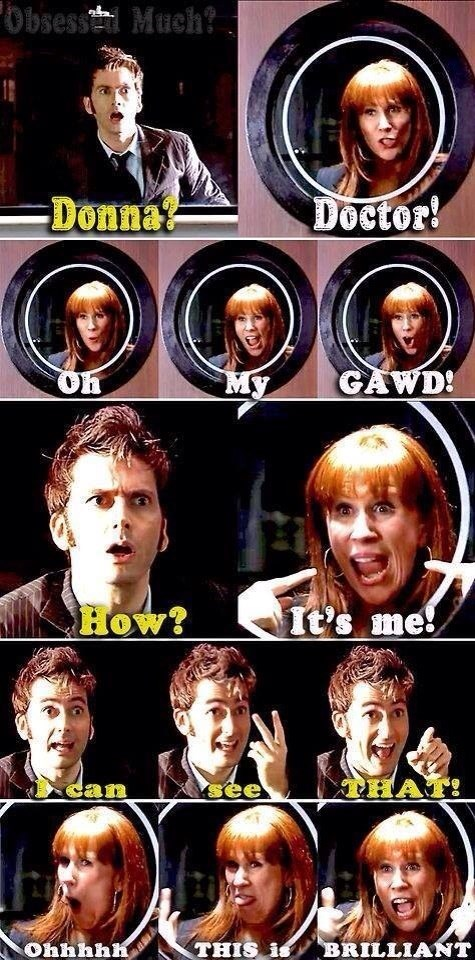 10th doctor companion donna noble - 8202699520