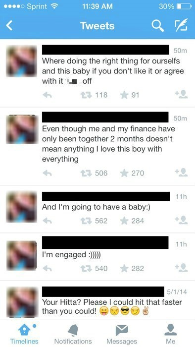 twitter kids these days pregnant engagement - 8202708992