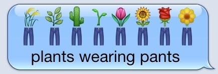 emoji plants texting - 8202985472