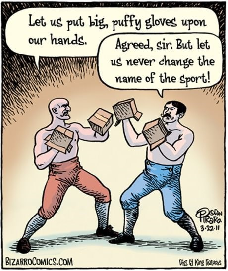boxing boxes puns web comics