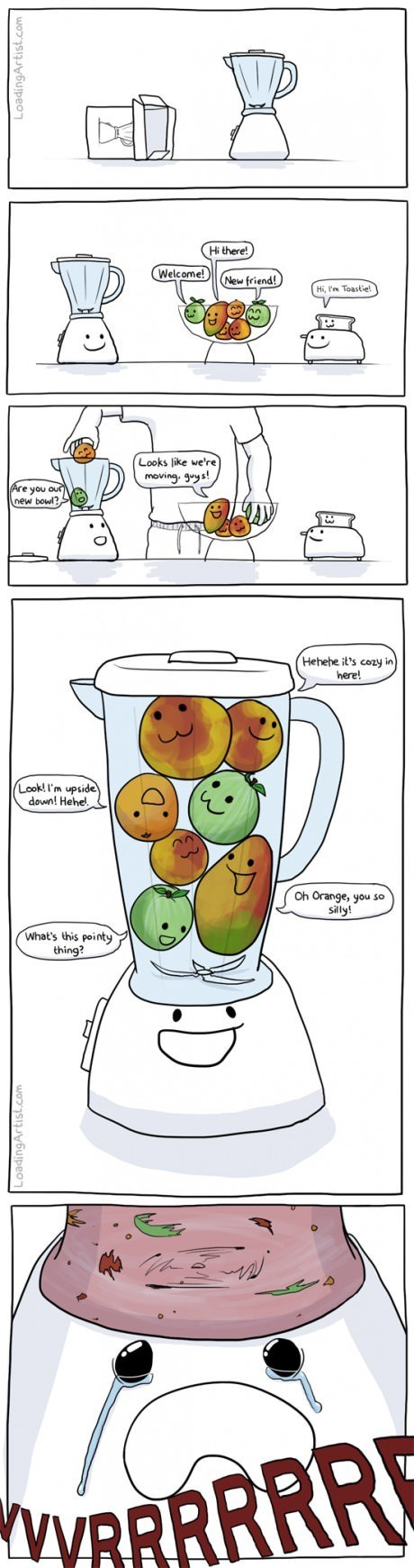 blenders fruit kitchen web comics - 8203437568