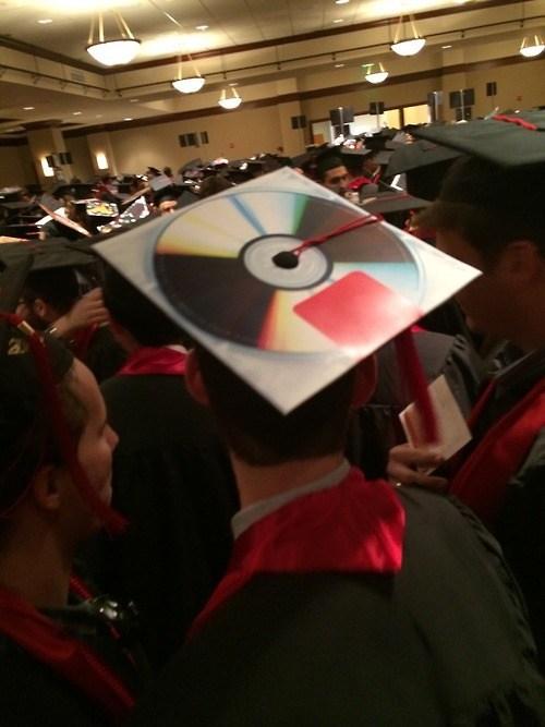 data cap funny storage CD graduation g rated School of FAIL - 8203438592
