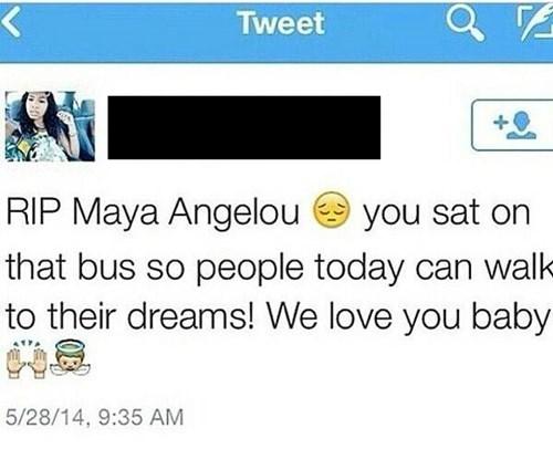 facepalm maya angelou twitter rip - 8203500288