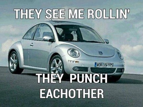 kids they see me rollin parenting punchbuggy - 8203506944