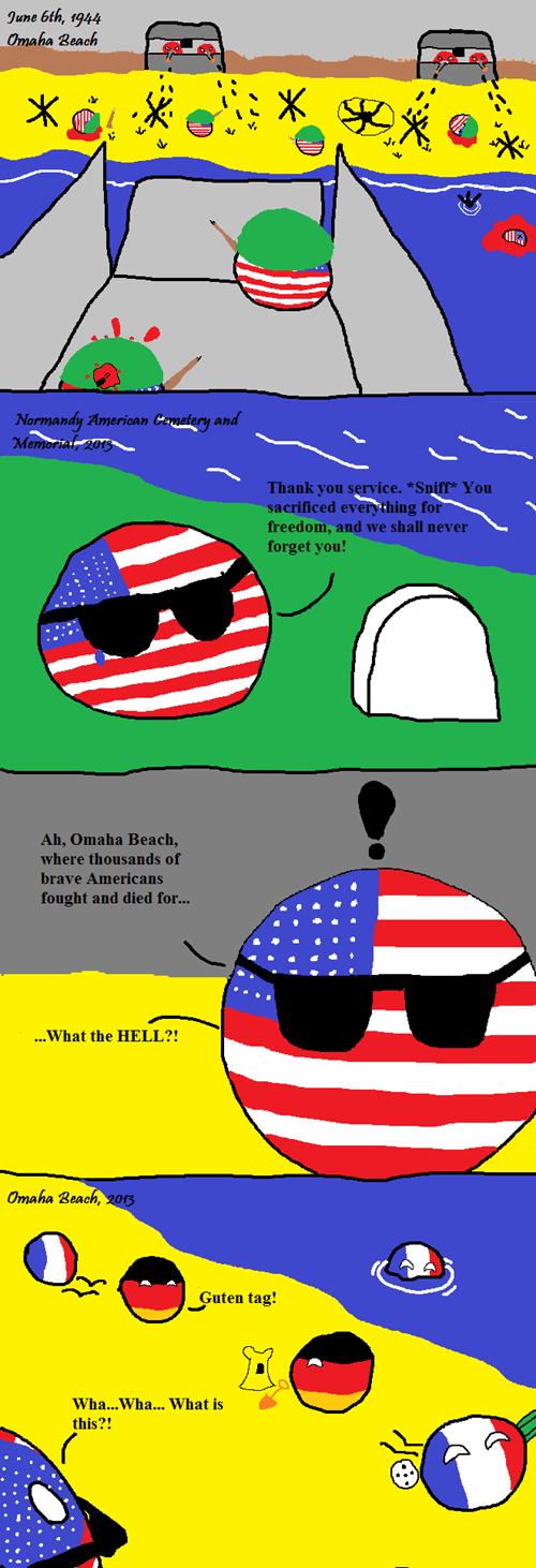 americaball countryballs Germany memorial day world war II - 8203523072