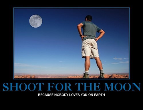 earth moon funny wtf