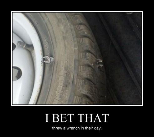 funny puns tire - 8203595008