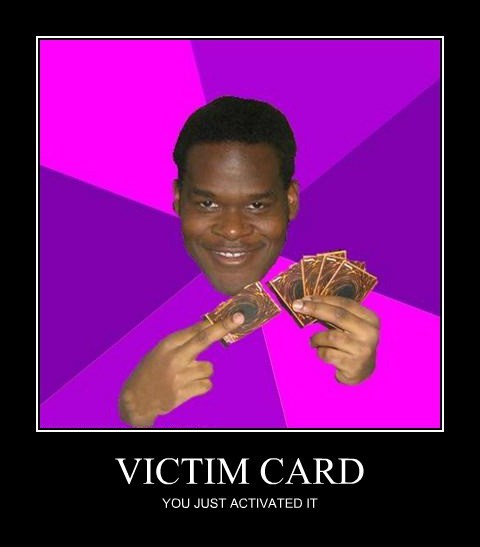 VICTIM CARD YOU JUST ACTIVATED IT