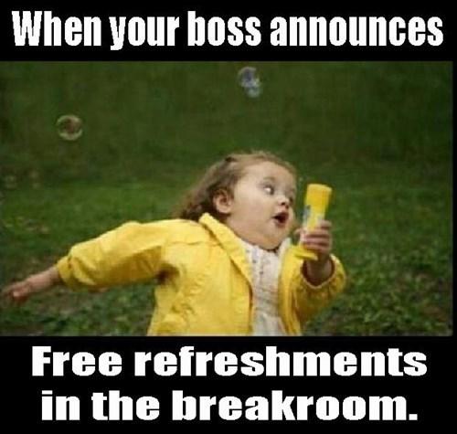 food break room free food monday thru friday - 8203699456