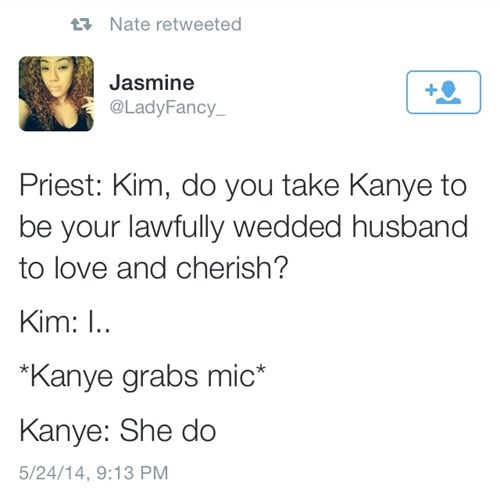 celeb kanye west kim kardashian wedding