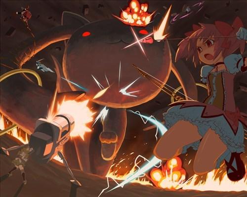 Puella Magi Madoka Magica anime Fan Art - 8203811840