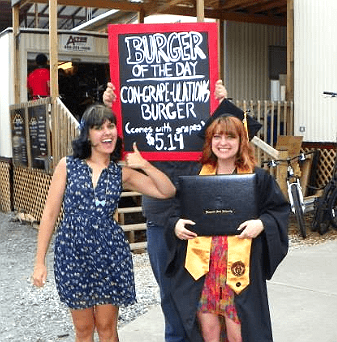 TV,signs,graduation,bobs burgers
