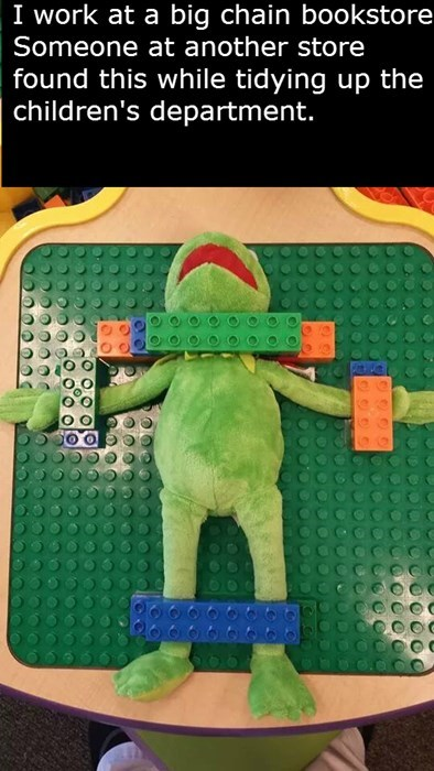 kermit the frog lego monday thru friday parenting g rated - 8203877120