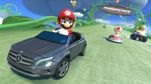 mercedes,mario kart 8,nintendo,Video Game Coverage