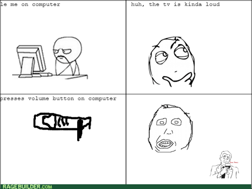 computer,TV,volume