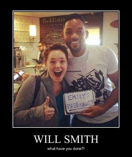 pregnant will smith funny - 8204868608