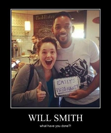 pregnant will smith funny - 8204868608