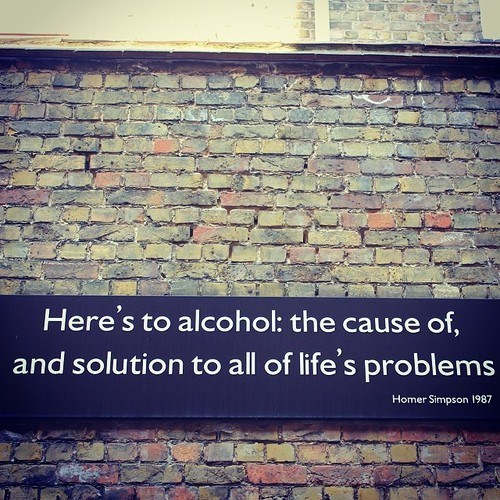 homer simpson alcohol quote funny - 8204896512