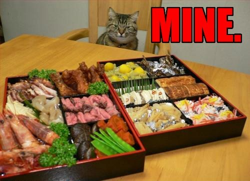 sushi mine food noms Cats - 8204937984