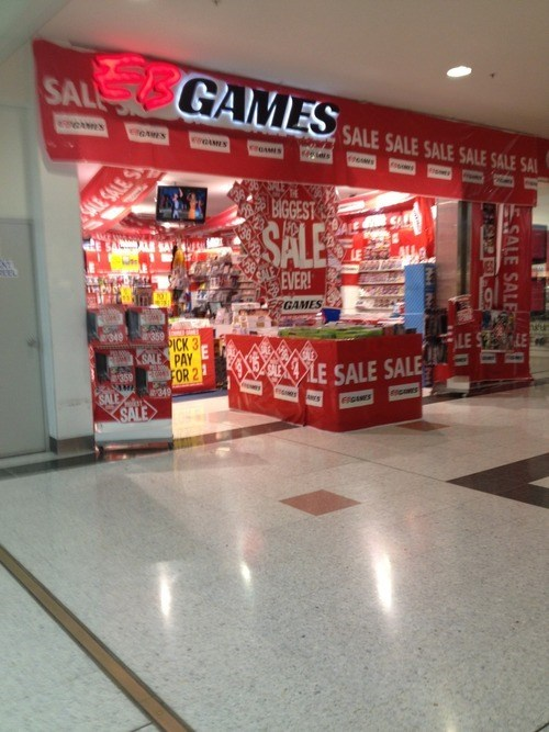 EB Games video games sale - 8205044480