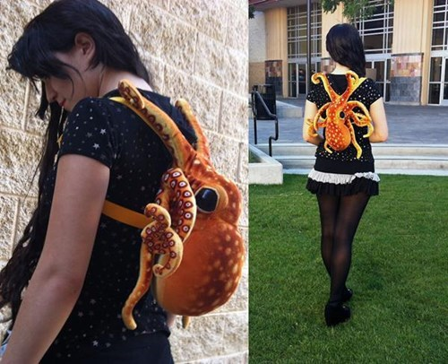 design octopus backpack - 8205066496