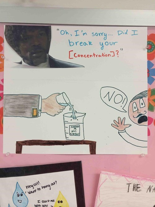 classroom concentration science funny School of FAIL - 8205164032
