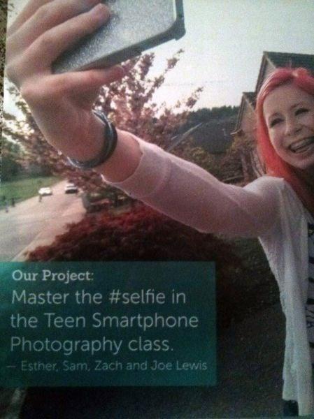 school,selfie